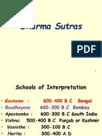 Dharma Sutras