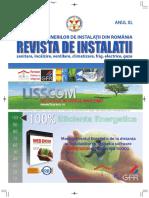 Revista de Instalatii, sanitare incalzire ventilare climatizare frig electrice gaze nr 01_18