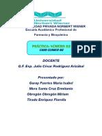 Caso Clinico 3 Interacciones Medicamentosas