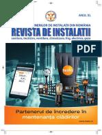Revista de Instalatii, sanitare incalzire ventilare climatizare frig electrice gaze nr 02 din 2018