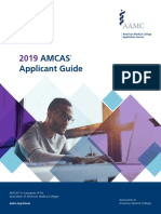 2019 Amcas Applicant Guide