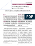 Neurocognitive Profiles in Children With Epilepsy