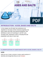 Acid Base and Salts