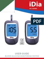 Aparat za mjerenje šećera u krvi iDia