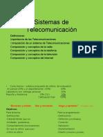 Bases para Sistemas de telecomunicaciones