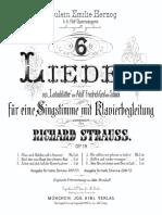 Breit Du Mein Habt Strauss