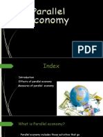 Ppt on Parallel Economy