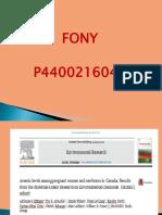 FONY NIM P4400216047
