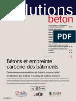 Béton bas Carbone SB-146
