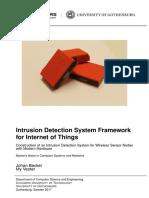 Ids Ips Framework for Iot