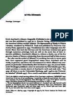 Auerbach and his Mimesis (Bremmer).pdf
