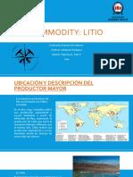 Litio - Commodities.pptx