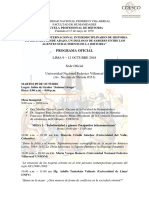 Programa Oficial Coesco 2018 - Versión Final