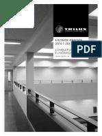 Trilux Lista Precios 2016-2017