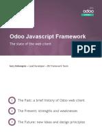 State of the Odoo JS Framework