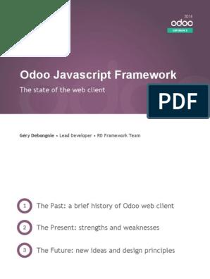 Odoo Javascript Library