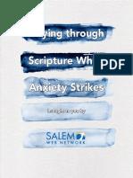 Praying through Scripture When Anxiety Strikes