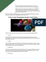 8 Tips Untuk Mengalahkan Bandar Togel Online |