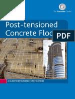 Post-tensioned Concrete Floors – the Concrete Centre