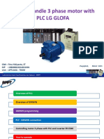Handling Motor 3 Phasa With PLC GLOFA
