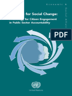 Auditing for Social Change by United Nations