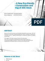 AAC Block - A New Eco-friendly Material for.pptx