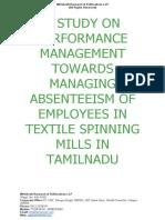 A Study on Talent Management  [www.writekraft.com]