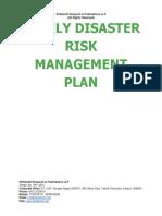 Family Disaster Risk Management Plan [www.writekraft.com]