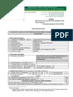 Fisa Disciplinei Statistica Aplicata in Psihologie Si Prelucrarea Informatizata a Datelor 1