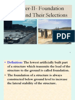 CHAPTER-II TYPES OF FOUNDATIONS.ppt