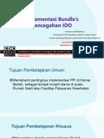 Implementasi Bundle's Ido - Cdc