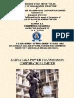 KPTCL ppt's (sahana)[1]