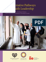 Transformative Pathways to Leadership Report