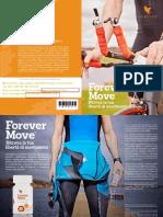 Depliant Forever Move - integratore alimentare benefico per le articolazioni