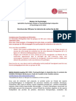 Brochure TER M2 2018-2019