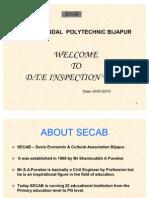 Malik Sandal Polytechnic Bijapurinspection 2010