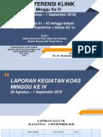 1 Konklin IUFD FIX Sabtu 1 September 2018