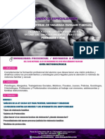 Diplomado Atención a Víctimas de Violencia Familiar y Sexual-guía Metodológica