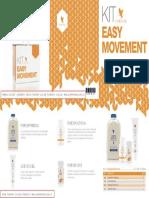 Depliant Easy Movement - La combinazione dei prodotti della Forever Living Products benefico per il MOVIMENTO (italiano)