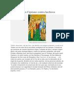 Oración a San Cipriano Contra Hechizos (1)
