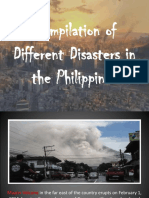 Compilation of Different Disasters in the Philippines