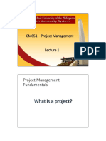 CM 651 Project Management
