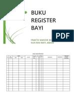 Buku Register Bayi