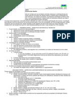 Programa de Sociologia Do Direito - 2016-1 - UNB - Sociologia