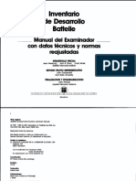 Manual del Examinador Battelle