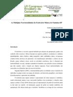 As Multiplas Territorialidades Do Festival de Musica de Ourinhos