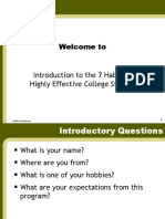 7 Habits Covey Collegiate PP