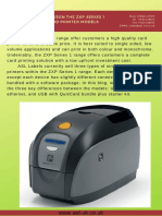 Differences between the ZXP Series 1 single side card printer models