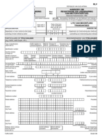 Application for Registration and Licencing of Motor Vehicle (Form RLV)