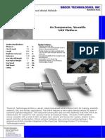 Brock Technologies AV8-R UAV Brochure